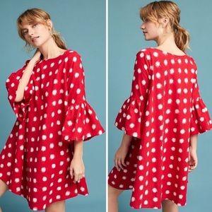 Norblack Norwhite Red Dot Dress